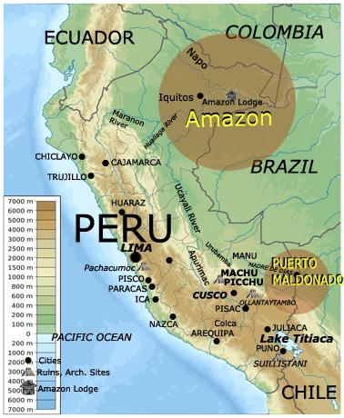 Iquitos Peru Map My Blog - Perus map